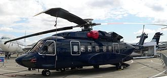 Sikorsky S-92 - A Sikorsky S-92 at the 2007 Paris Air Show
