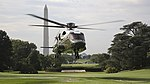 Sikorsky VH-92 lands at the White House during tests on 22 September 2018 (180922-M-ZY870-434).jpg