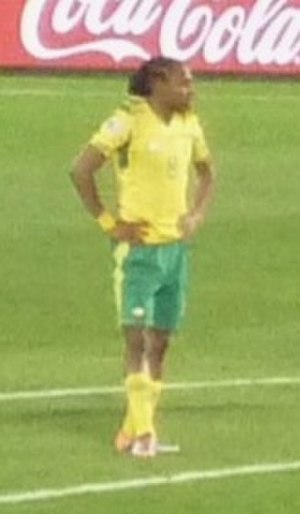 Siphiwe Tshabalala - Tshabalala playing for South Africa at the 2010 FIFA World Cup