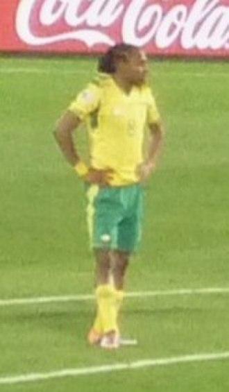 Siphiwe Tshabalala - Tshabalala playing for South Africa at the 2010 FIFA World Cup