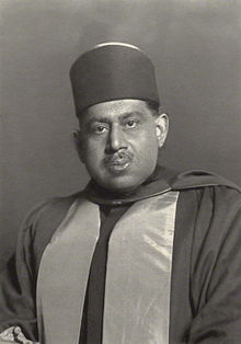Sir Bijay Chand Mahtab, Maharaja Bahadur of Burdwan, in 1931.jpg