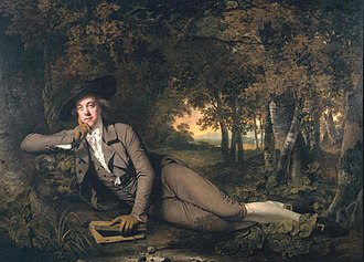 Boothby baronets - Sir Brooke Boothby, 6th Baronet, by Joseph Wright, 1781