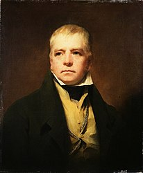 Henry Raeburn: Portrait of Sir Walter Scott
