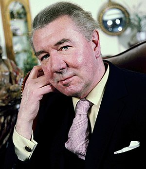 Michael Redgrave - Portrait taken by Allan Warren in 1978