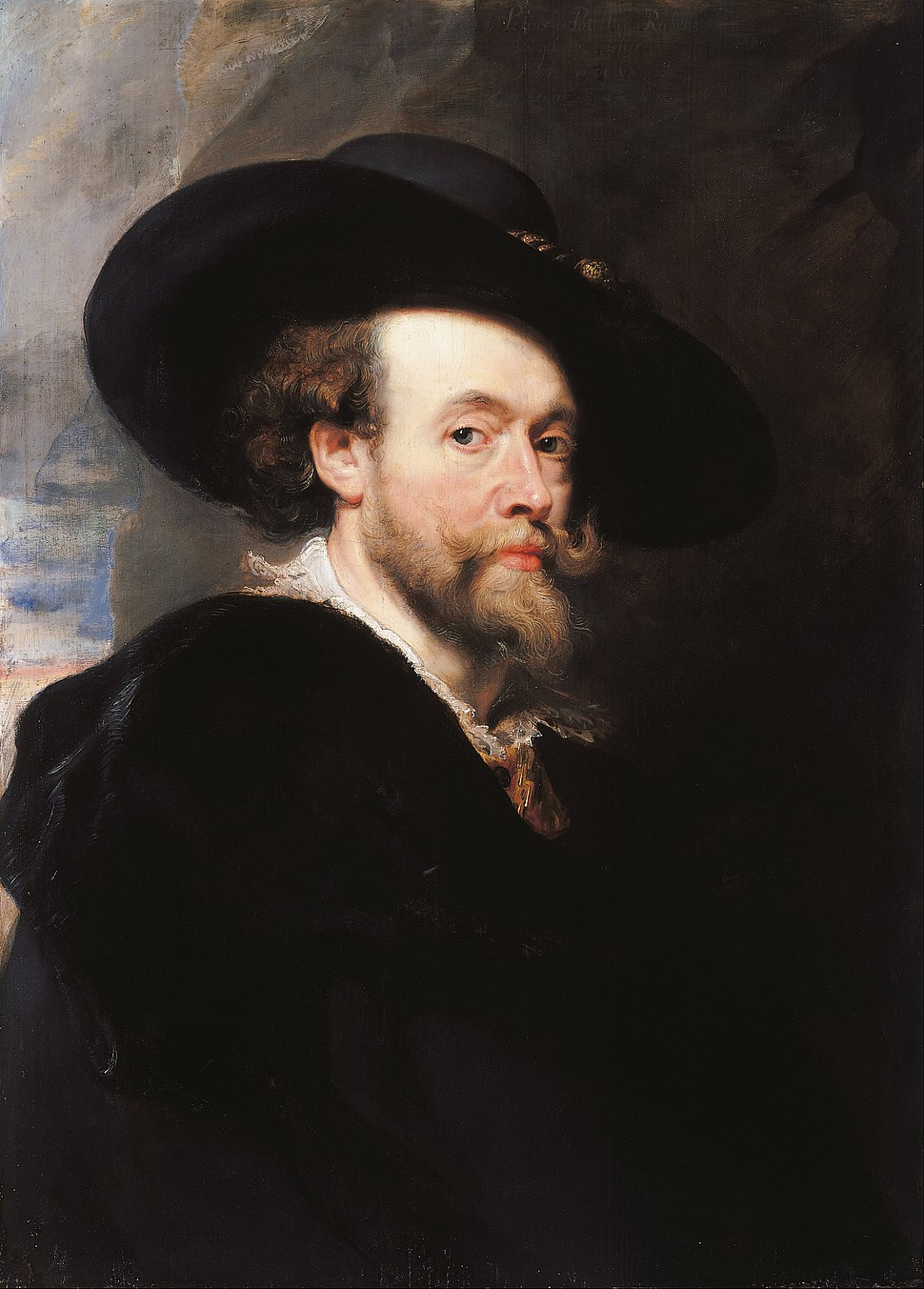 Sir Peter Paul Rubens - Portrait of the Artist - Google Art Project