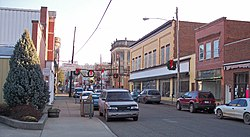 Wells Street in downtown Sistersville in 2006