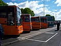 Skelton Coaches line up Metrocentre rally 2009.JPG