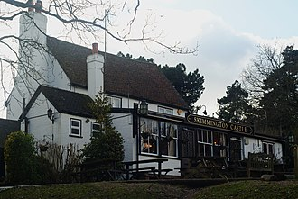 Reigate - Skimmington Castle, a pub in Skimmington.