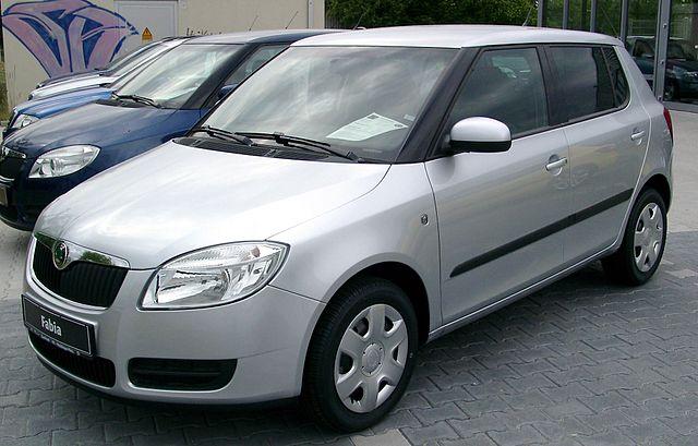 Skoda Fabia front 20080612