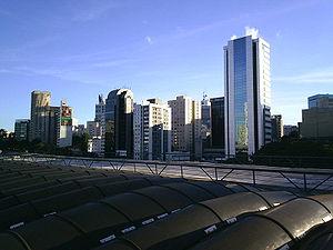 Vila Mariana (district of São Paulo) - Image: Skyline from São Paulo city