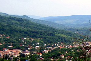 Slănic - Scenic view of Slănic