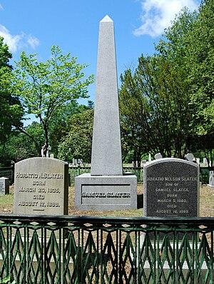 Samuel Slater - Image: Slater Grave