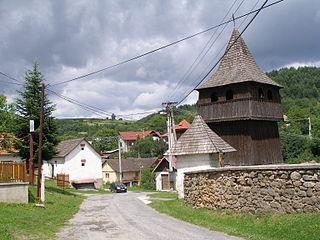 Klenov Village in Slovakia