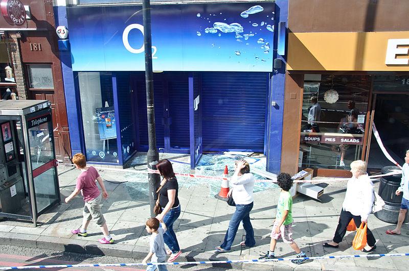 File:Smashed O2 shop in Camden, 2011 London riots.jpg