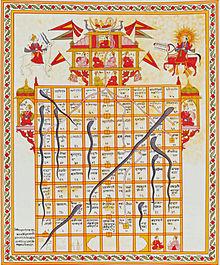 Serpientes Y Escaleras Wikipedia La Enciclopedia Libre