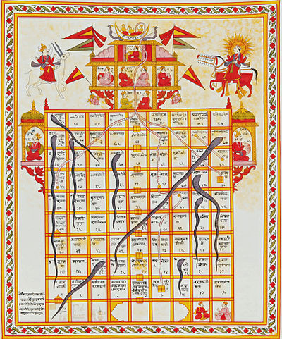 Picture of a game: Snakes And Ladders
