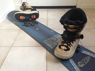 Snowboard - Snowboard, K2 Clicker step-in binding
