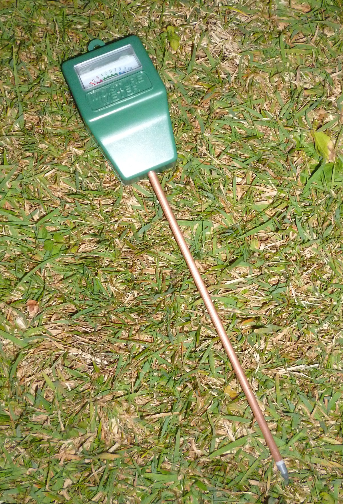 Soil moisture sensor wikipedia for Soil moisture sensor
