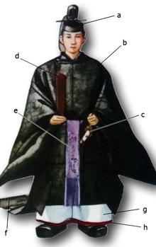 袍_束帯-Wikipedia