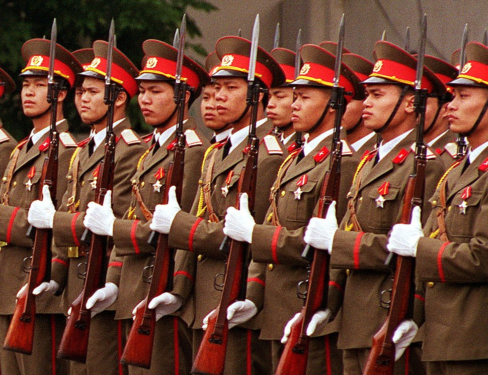 Soldiers of Vietnam People%27s Army