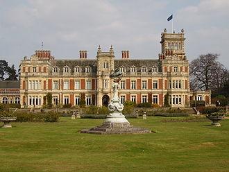 Somerleyton Hall - Somerleyton Hall - The garden front