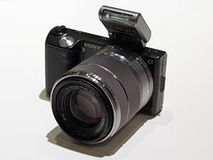 Download Driver: Sony NEX-5R Digital Camera SEL24F18Z Lens