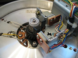 Rotary transformer - Prior to the development of the rotary transformer, a slip-ring pickup was used, though this was prone to developing signal noise due to corrosion of the slip rings.