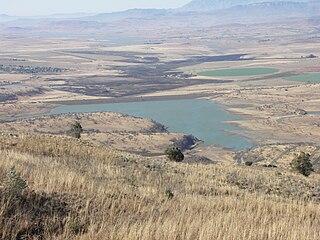 Kilburn Dam Dam in KwaZulu-Natal, South Africa