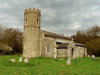 All Saints, South Elmham - Image: South Elmham g 5