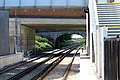 South under footbridge, Maghull North.jpg