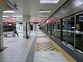 Southbound platform of Dang Wangi LRT Station November 2017.jpg