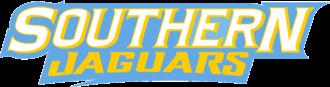 Southern Jaguars basketball - Image: Southern Jaguars wordmark