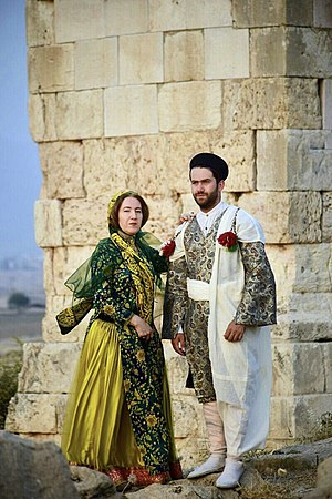 Lurish clothing - Southern Lurish Female and Male Costumes