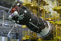 Soyuz MS-08 spacecraft in the integration facility (3).jpg