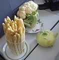 Spargelzeit Poznan asparagus, kohlrabi, cauliflower.jpg
