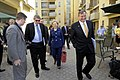 Special Representative Holbrooke, Secretary Clinton, and Ambassador Eikenberry Walk in Kabul (4813425462).jpg