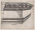 Speculum Romanae Magnificentiae- Corinthian entablature MET DP870183.jpg