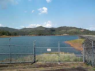 Splityard Creek Dam - Image: Splityard Creek Dam