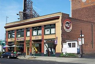 SPoT Coffee - Image: Spot buffalo downtown
