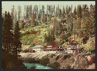 Shasta Springs - Spring House at Shasta Springs
