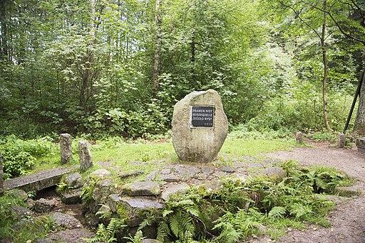 Quelle der Gablonzer Neiße bei Nová Ves nad Nisou (Neudorf an der Neiße). Spring of Lusatian Neisse