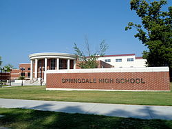 Springdale High School, Arkansas.JPG