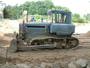 Land development - Since their invention, heavy equipment such as bulldozers have been useful for earthmoving in land development.