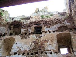 Spynie tower interior