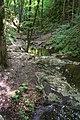 Srbsko (okres Beroun), koryto potoka II.JPG