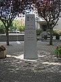 Stèle 30 ans jumelage (Chamalières) face 2015-09-10.JPG
