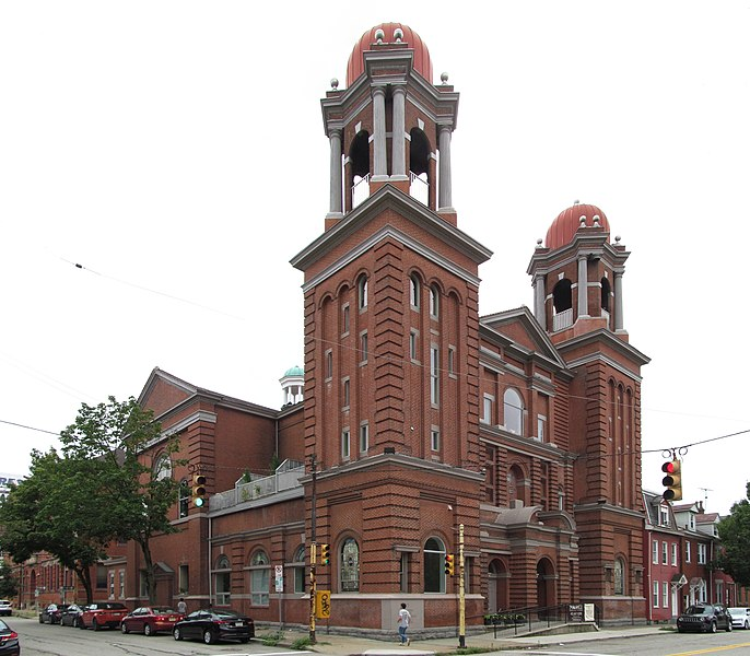 St. Casimir's Church, South Side, Pittsburgh