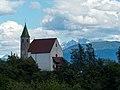 St. Martin in Prissian, am Jakobsweg zwischen Meran und Bozen, Trentino, Südtirol, Italien - panoramio.jpg