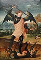 St. Michael and the Dragon by unknown Spanish artist - Statens Museum for Kunst - DSC08174.JPG