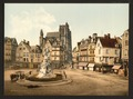 St. Vulfran and square of Admiral Courbet, Abbeville, France-LCCN2001697544.tif